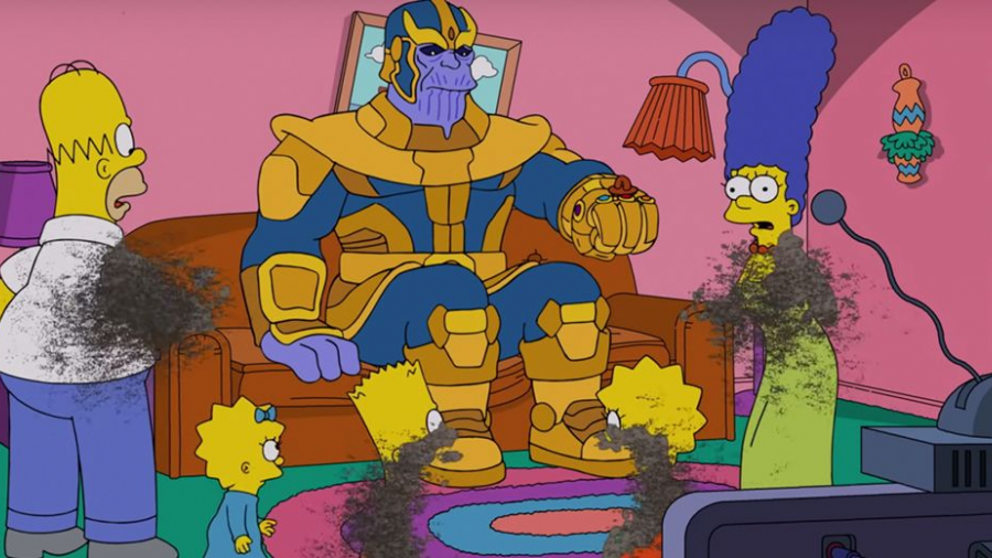 ¡Thanos llega a Los Simpsons!