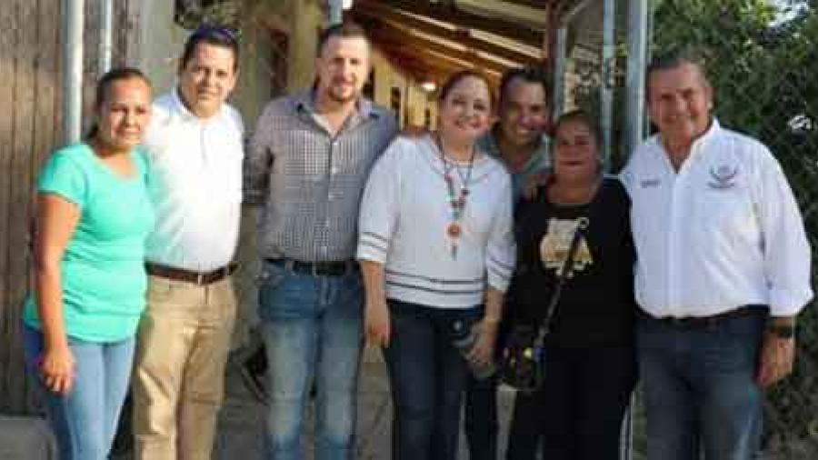 Dona Peñitas unidad de bomberos a Río Bravo