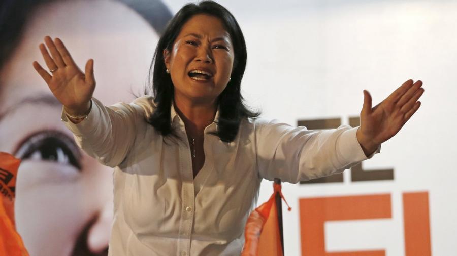 Detienen por lavado de dinero a Keiko Fujimori