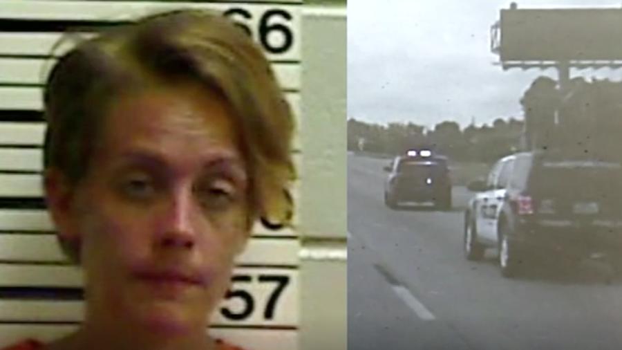 Mujer se roba camión de basura en Houston