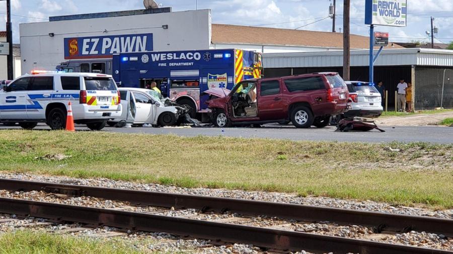 Accidente vehicular en Weslaco deja una persona muerta