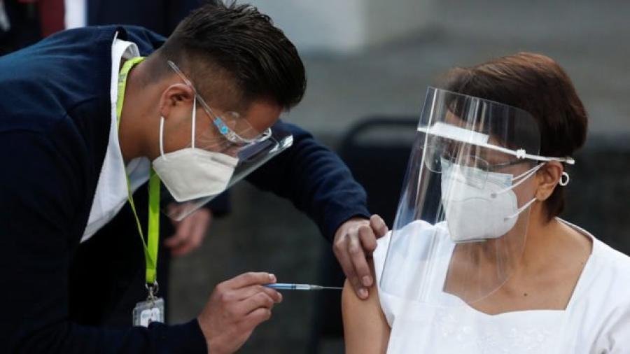 México registró récord de vacunación contra Covid-19