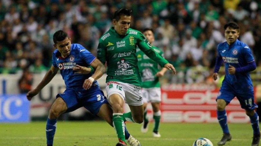 León y Cruz Azul igualan 1-1 en partido de Copa MX