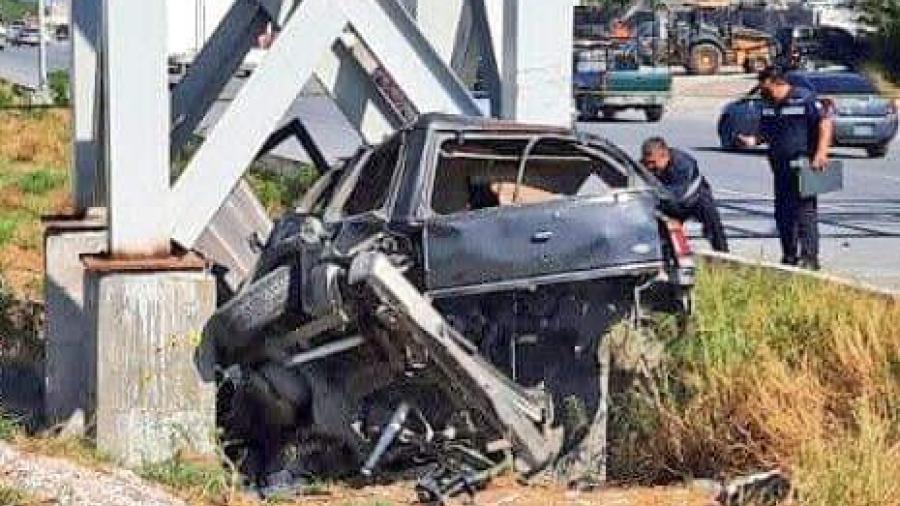 Fallecen dos menores y una joven en colisión en Reynosa