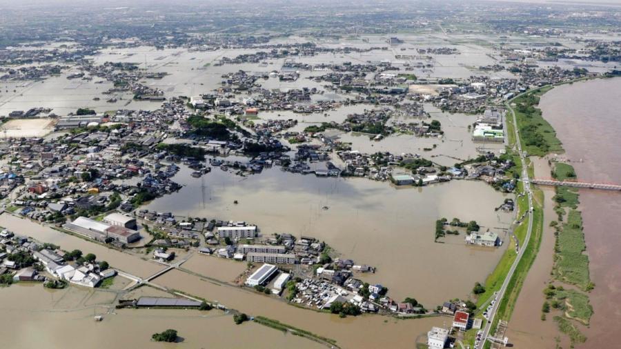 Al menos 60 muertos por inundaciones en Japón