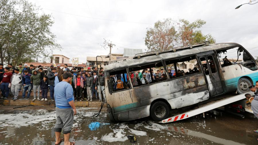 Atentado con coche bomba en Bagdad deja al menos 32 muertos