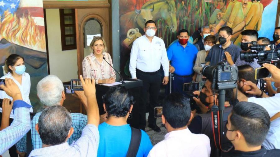Próximo gobierno municipal recibirá una administración ordenada y transparente: Pilar Gómez