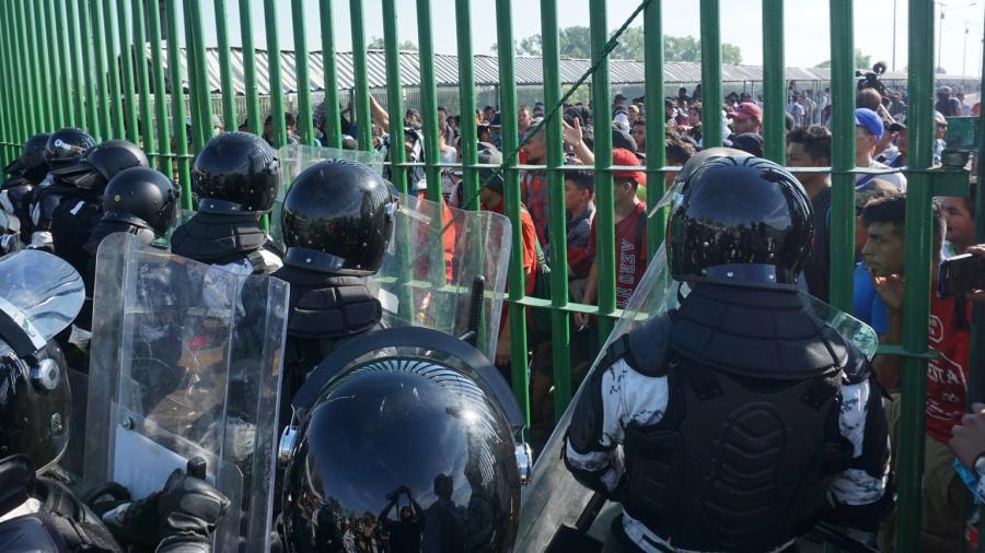 Aplaude EU a México por contención de migrantes en frontera con Guatemala