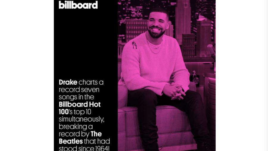 Drake y su nuevo disco con gran éxito