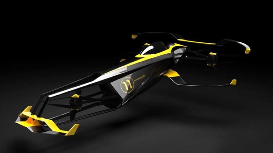 Buscan revolucionar la F1 con autos voladores