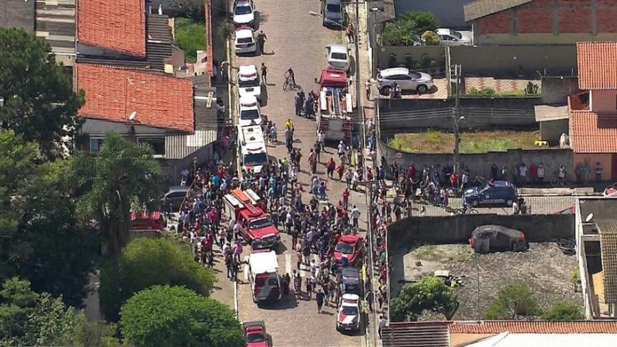 Cinco muertos por tiroteo en escuela de Brasil