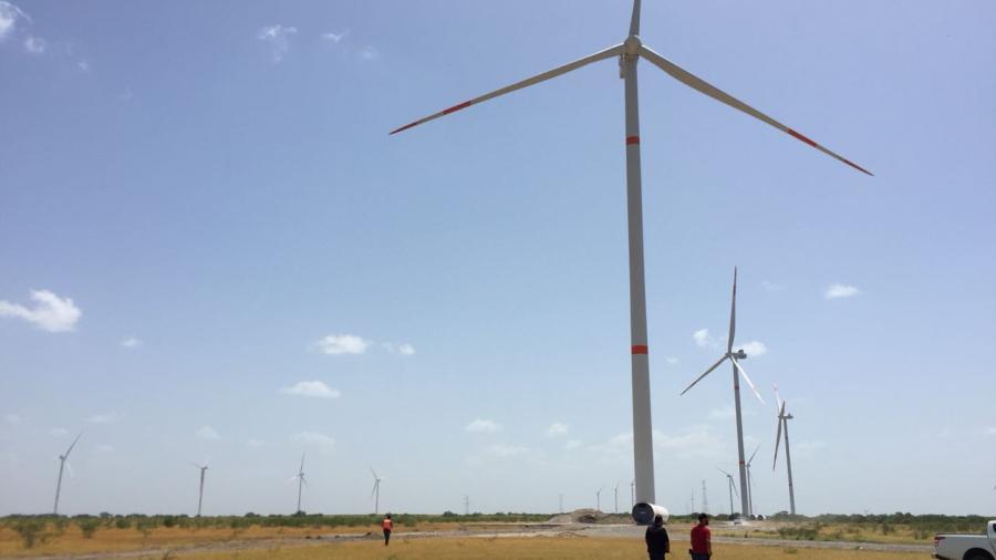 Conectan Parque Eólico Reynosa a la Red Nacional de Transmisión