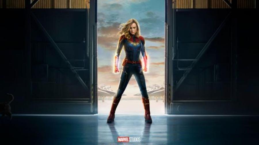 Capitan Marvel logra la 2da mejor preventa de Marvel