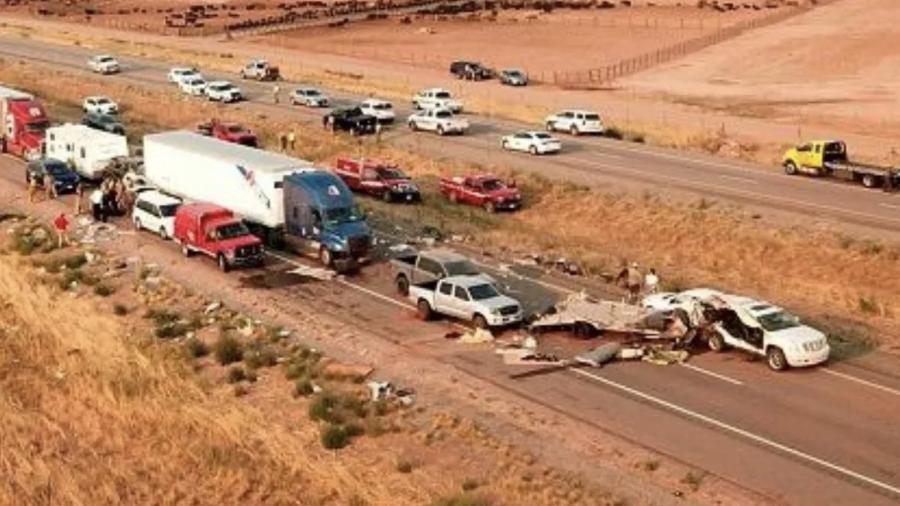 Choque múltiple en Utah deja ocho muertos