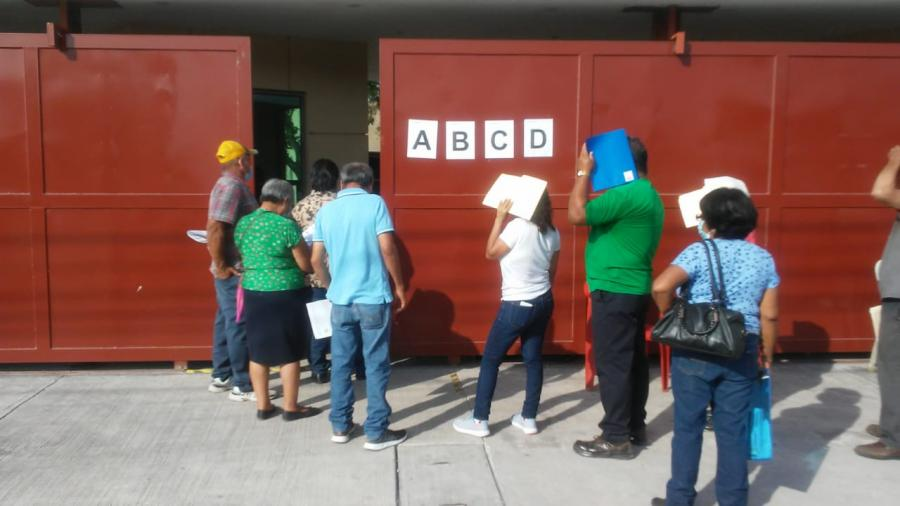 Inicia aplicación de segunda dosis en Matamoros, hay suficientes vacunas para todos