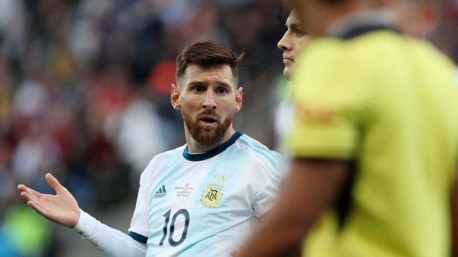 Messi podría ser sancionado por dos años