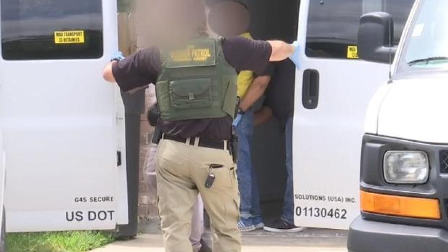 Encuentran a 70 indocumentados en una casa de McAllen