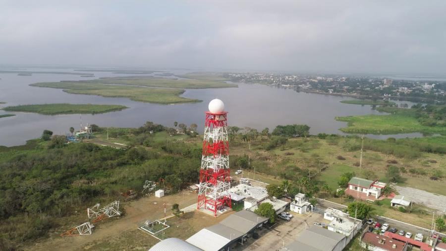Inauguran Gobierno Municipal y CONAGUA Radar Meteorológico en Altamira