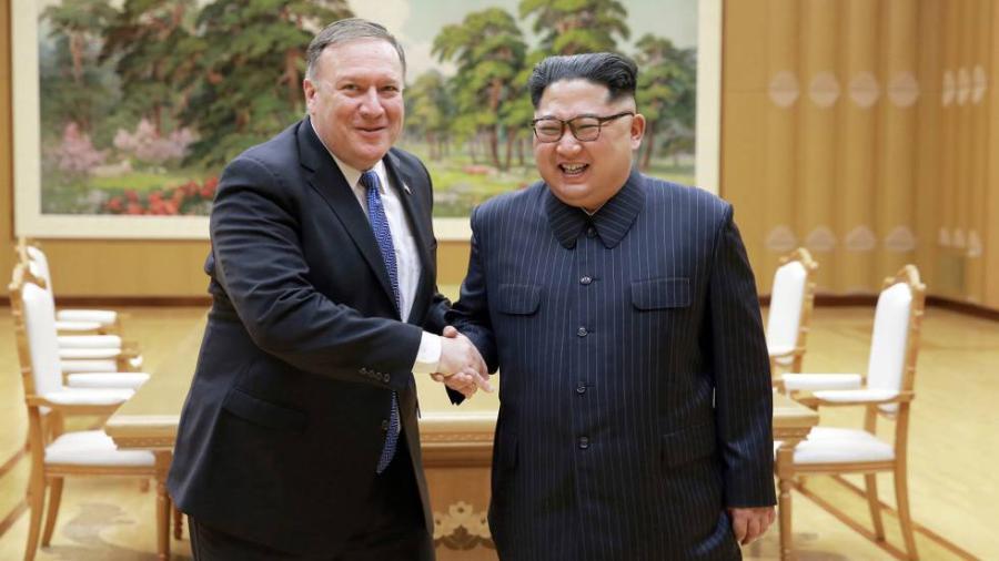 Kim ha prometido desnuclearización en a menos 6 ocasiones: Pompeo