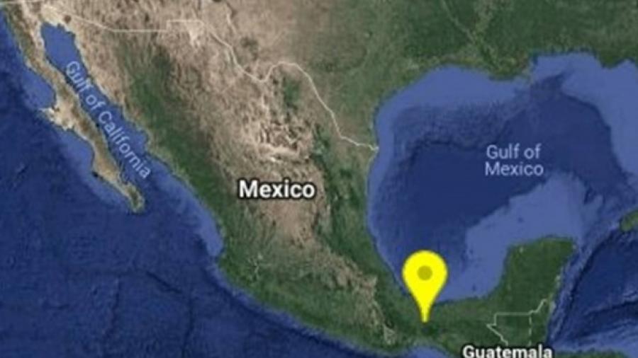 Sismo de 5.4 estremece al sur de Veracruz