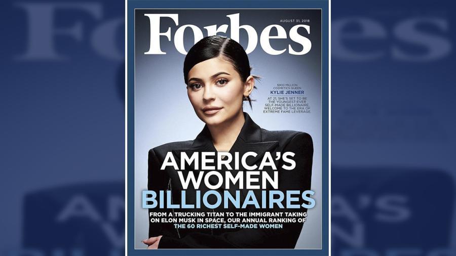 Kylie Jenner esta a punto de convertirse en la multimillonaria más joven de la historia