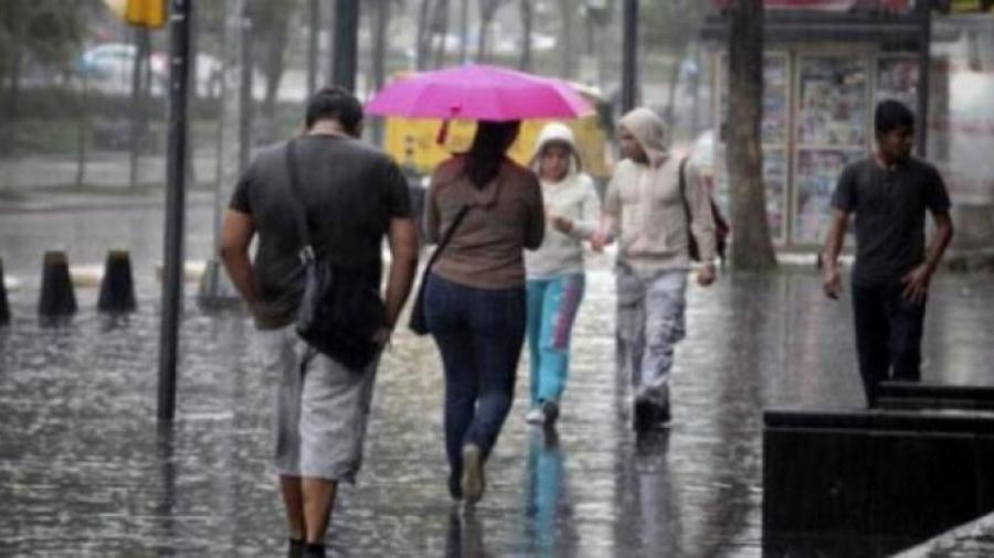 Se prevén lluvias puntuales intensas en varios estados del país