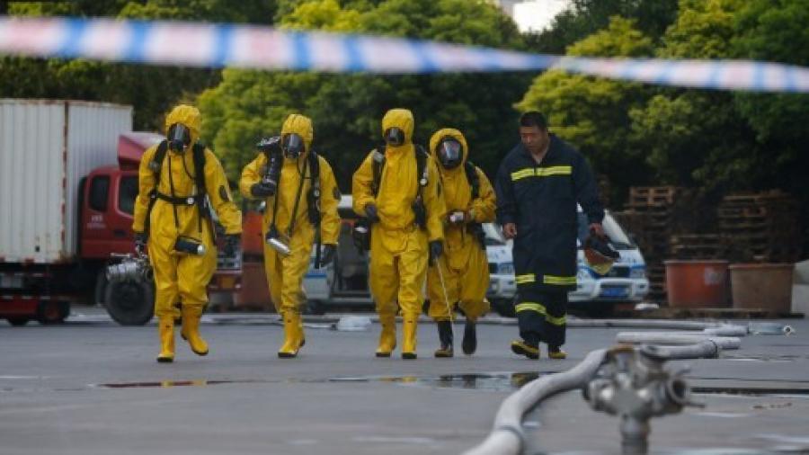 Fuga química en planta en China causa 8 muertos