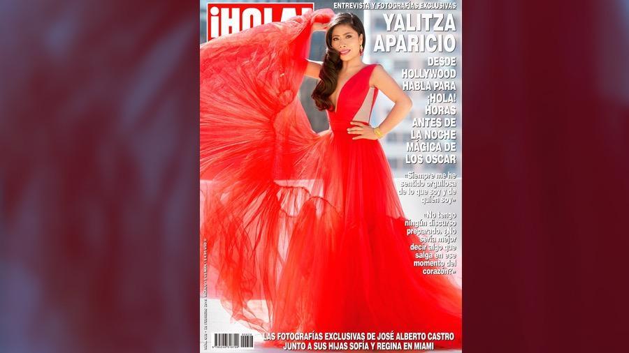 Yalitza protagoniza portada de ¡Hola!