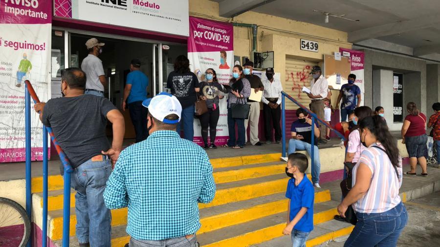 Las credenciales 19 y 20 podrán participar en la consulta popular: INE Nuevo Laredo