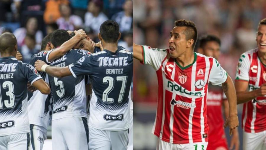 Monterrey recibe a Necaxa