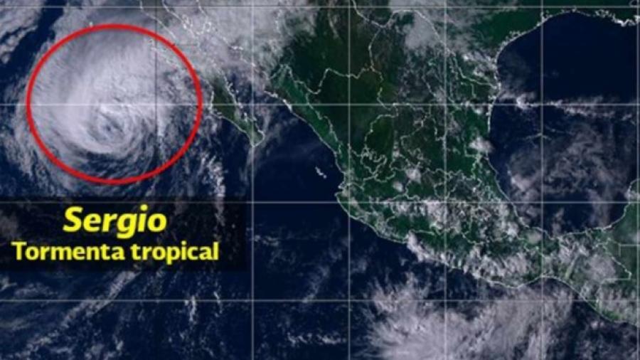 "Emiten alerta especial por llegada de la tormenta tropical ""Sergio"""