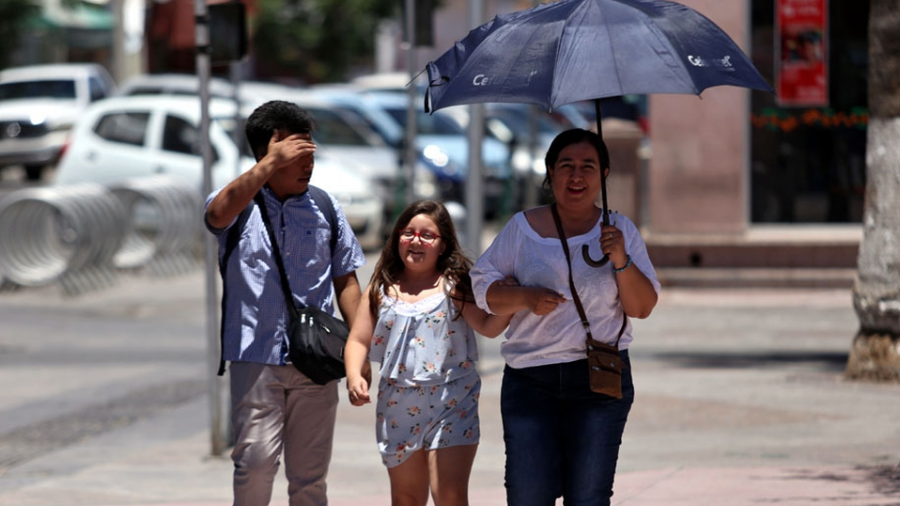 ¡Toma tus precauciones! Sensaciones térmicas superarán hoy los 40 grados en Reynosa, Nvo. Laredo y Matamoros