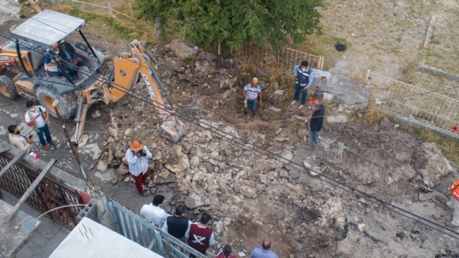 Inicia trabajos de rehabilitación y pavimentación de callejones de la Popular y la Balboa