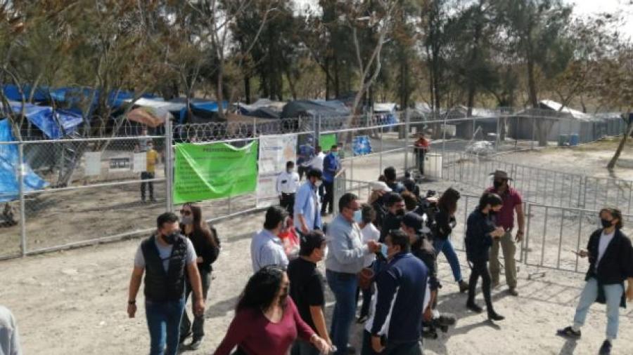 Agencias de la ONU inician registro de migrantes en el Campamento Matamoros