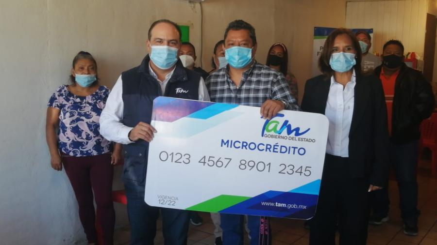 En ceremonia virtual Inversión Tamaulipas entrega créditos por 3 millones de pesos