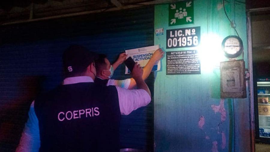 Suspenden negocios en Tampico y Ciudad Madero por incumplir protocolo contra el Covid-19