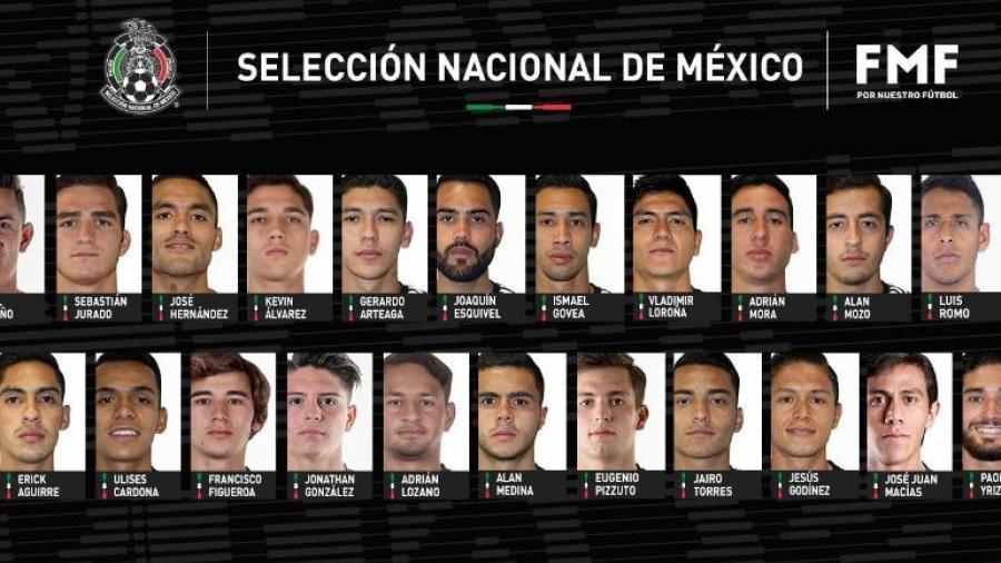 Lanza Selección Nacional lista de convocados para la Nations League