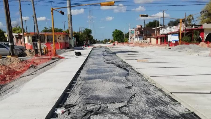 Mejoran movilidad en Reynosa con 480 Millones de Pesos