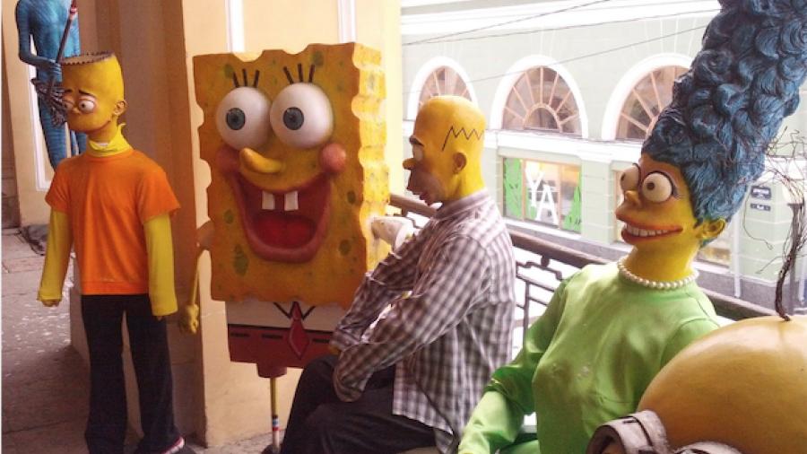 Las imágenes del museo de cera ruso que causan risa/terror