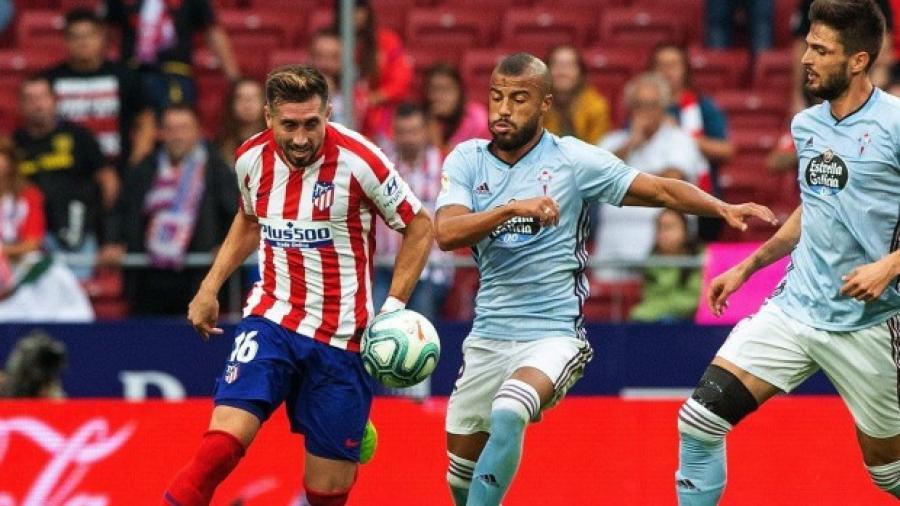 Atlético de Madrid y Celta de Vigo empatan sin goles en el Wanda Metropolitano
