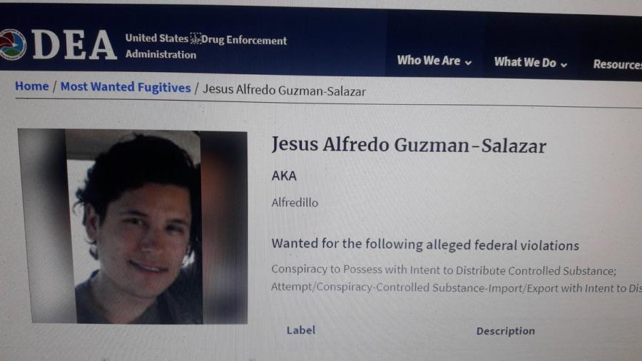 La DEA incluye al hijo del 'Chapo' entre los 10 más buscados