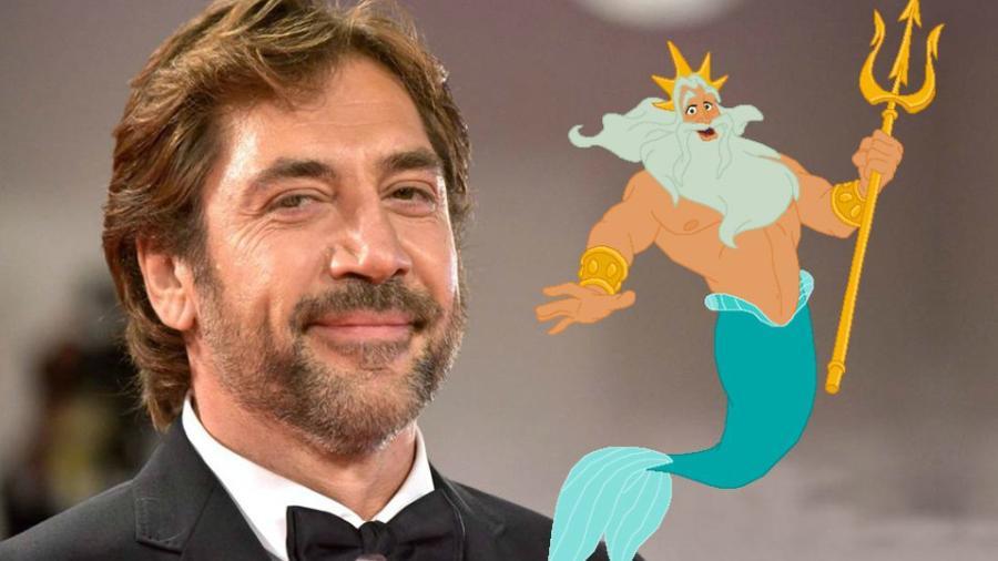 Javier Bardem podría ser el rey Tritón en 'La Sirenita'
