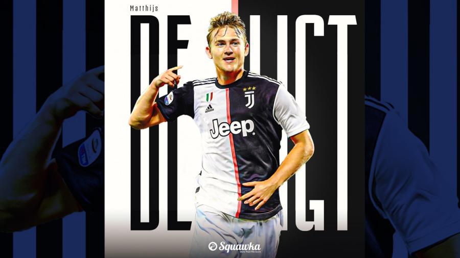 Matthijs de Ligt es nuevo futbolista de la Juventus