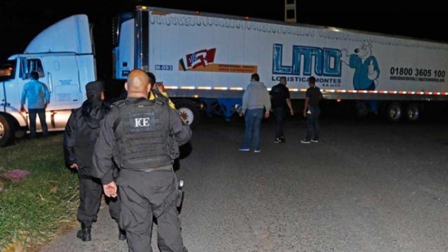 Piden informe por cadáveres encontrados en tráiler de Jalisco