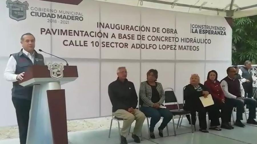 Reafirma Oseguera su compromiso por transformar a Madero