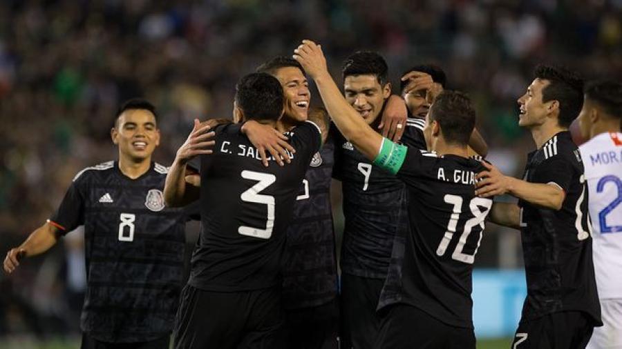Selección Mexicana derrota a Chile