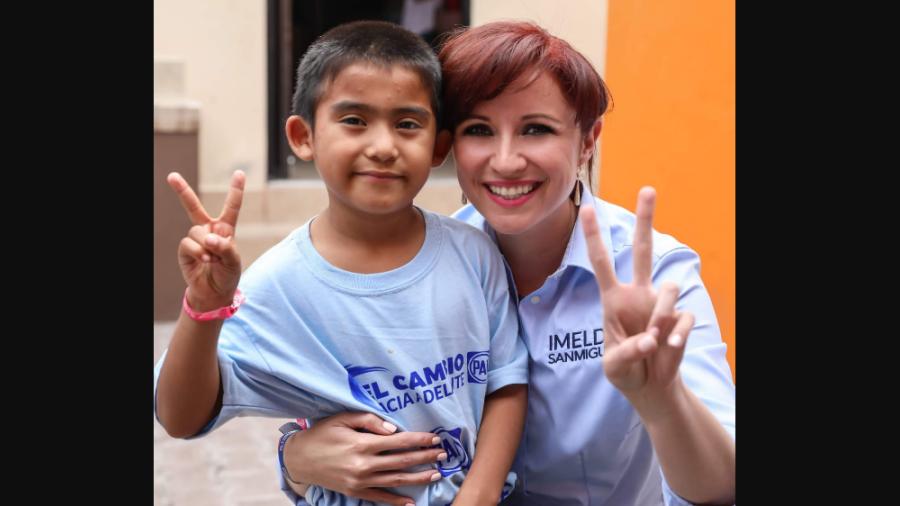 Sociedad y Gobierno, juntos por 'El Cambio hacia Adelante': Imelda Sanmiguel