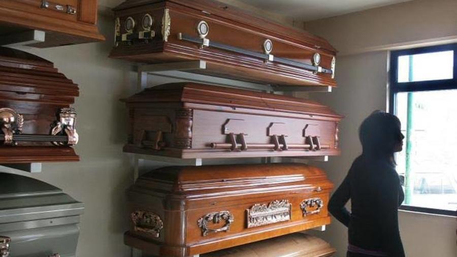Funerarias en Nueva York están saturadas