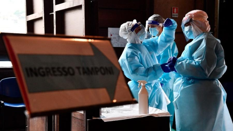 Italia supera los 800 muertos en las últimas 24 horas