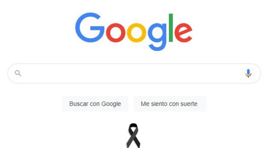 Google coloca moño negro por accidente en L12 del Metro de la CDMX
